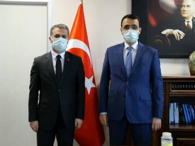 Başkanımız Trabzon Sosyal Güvenlik İl Müdürü Erdem Akbay'ı Ziyaret Etti