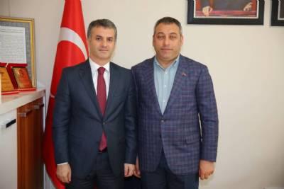 Ortahisar Belediye Başkan Yardımcısı Selahaddin Çebi'ye Makamında Ziyaret