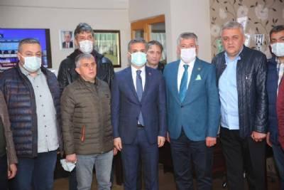 Başkanımız Yomraspor'u Ziyaret Etti