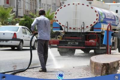 Sancak Mahallesi temizlik çalışmaları