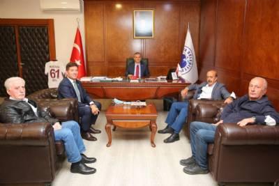 Trabzon Milletvekilimiz Ahmet Kaya Başkanımızı Ziyaret Etti