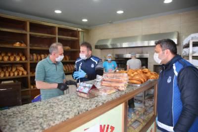 Ekmek Fırınları Düzenli Olarak Denetleniyor