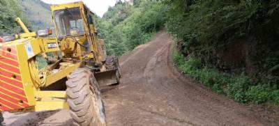 Özdil, Oymalı, Kıratlı ve Demirciler Mahallelerimizde Menfez ve Yol Temizleme Çalışması
