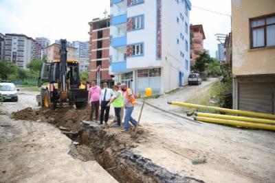 Belediye Başkanımız Mustafa Bıyık Saha Çalışmalarını İnceledi