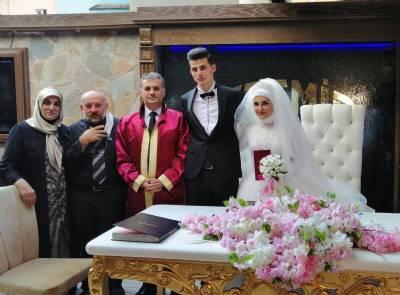 Ayşe Irmak ve Serkan Ayvaz Nikah Ilani
