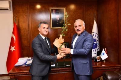 Trabzon Büyükşehir Belediye Başkanı Murat Zorluoğlu'nu Belediyemizde Ağırladık