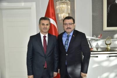 Ortahisar Belediye Başkanı Ahmet Metin Genç'e Ziyaret