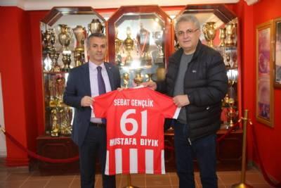 Başkanımız Sebat Gençlikspor Kulübünü Ziyaret Etti