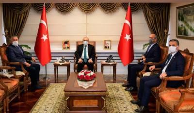Başkanımız Trabzon Valisi İsmail Ustaoğlu'na Taziye Ziyaretinde Bulundu