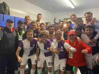 Yomraspor'umuz Play-off'u Garantiledi