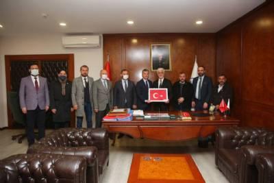 Yeniden Refah Partisinden Başkanımıza Ziyaret