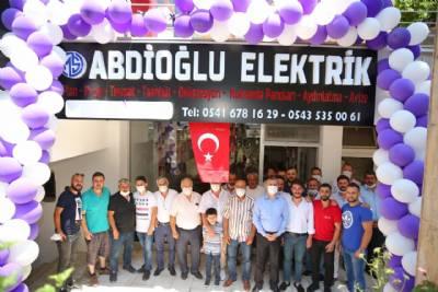 Abdioğlu Elektrik'in Açılışı Gerçekleştirildi