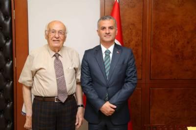 Trabzon Eski Belediye Başkanımız Hasan Melek, Başkanımızı Ziyaret Etti