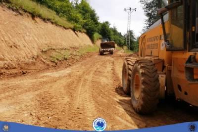 yol bakım ve onarım çalışması