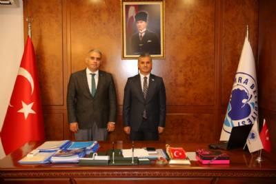 Gelecek Partisi Trabzon İl Başkanı Hasan Kamil Velioğlu Başkanımızı Ziyaret Etti