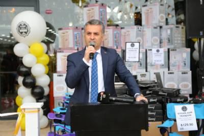 Başkanımız Uygun AVM'nin Açılış Programına Katıldı