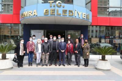 CHP İlçe Başkanlığından Başkanımıza Destek Ziyareti