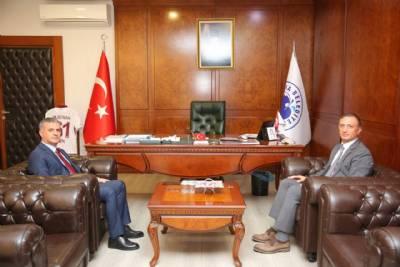 3. Ceza Dairesi Başkanı Fatih Aksoy Başkanımızı Ziyaret Etti