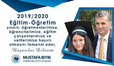 2019/2020 Eğitim-Öğretim Yılı hayırlı olsun