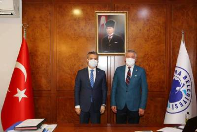 Milletvekili Hüseyin Örs Başkanımızı Ziyaret Etti