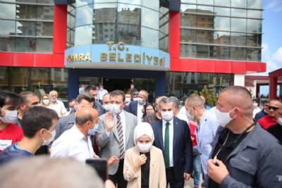 İBB Başkanı Ekrem İmamoğlu Belediyemizi Ziyaret Etti