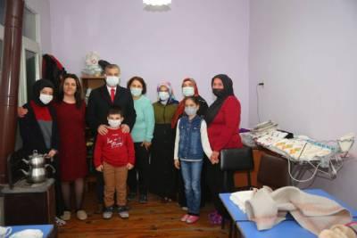 Başkanımız Halk Eğitim El Sanatları Kursu'nu Ziyaret Etti