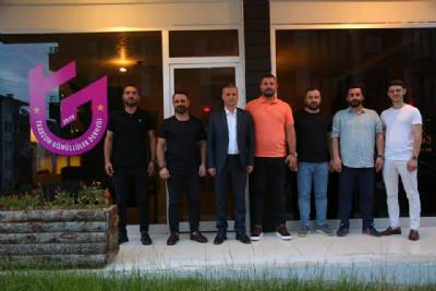 Başkanımız Trabzon Gönüllüler Derneğini Ziyaret Etti