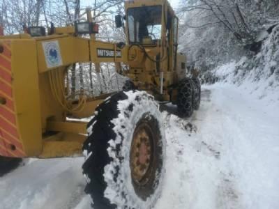 Karla Kapanan Yollar İvedilikle Açıldı