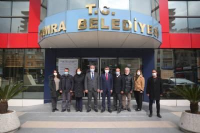 CHP Trabzon İl Baskanı Ömer Hacısalihoğlu Başkanımızı Ziyaret Etti