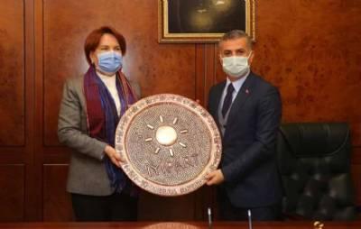 İyi Parti Genel Başkanı Merak Akşener'i Belediyemizde Ağırladık
