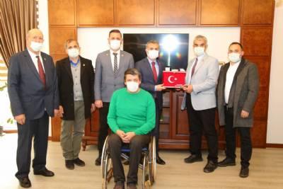 Türkiye Harp Malulü Gaziler Başkanımızı Ziyaret Etti