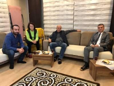 Mustafa Çam ve Ailesine Evlerinde Ziyaret