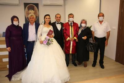 Bahar Akdemir ve Mesut Selim Nikah Ilani