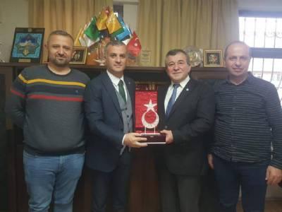 Başkanımız EMAY Inşaat'ın Koordinatörü Ali Boz'u Ziyaret Etti