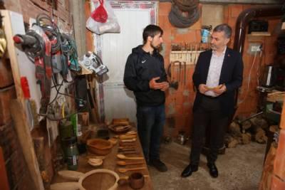 Başkanımız Gümüşhane'nin Dumanlı Mahallesi'ni Ziyaret Etti