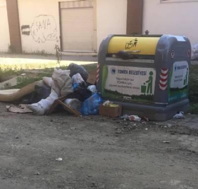 Lütfen Çöpleri Çöp Kutusuna Atalım