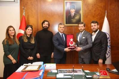 Genç Trabzonlular Derneğinden Başkanımıza Ziyaret