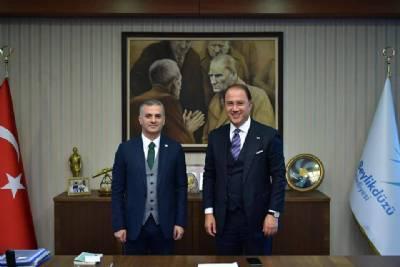 Başkanımız İstanbul Beylikdüzü Belediye Başkanı Murat Çalık'ı Ziyaret Etti