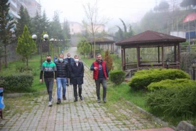 Özdil Mahallesi İbrahim Adanur Parkı Yenilenecek
