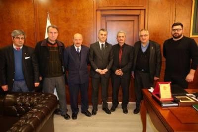 Ortahisar Gazeteciler Cemiyetinden Başkanımıza Ziyaret