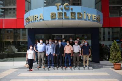 CHP Trabzon İl Başkanı Ömer Hacısalihoğlu'ndan Başkanımıza Ziyaret