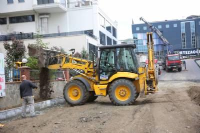 Kaşüstü Mahallemiz Kamelya Sokakta Kaldırım Çalışmaları Başlamıştır