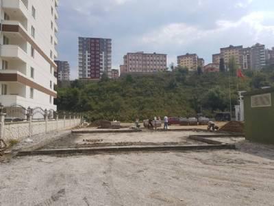 çocuk parkı inşaatımız başlamıştır