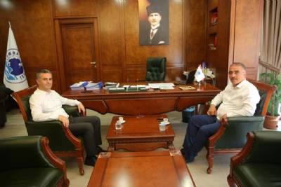 Mustafa Canlı'dan Başkanımıza Ziyaret