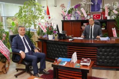Başkanımız DSİ Bölge Müdürü Cengiz Han Kılıçaslan'ı Ziyaret Etti