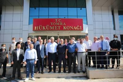Kaymakamımız Eyüp Özdemir Ankara'ya Uğurlandı