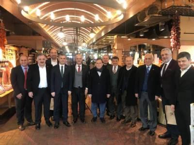 Trabzon Dünya Ticaret Merkezi Yönetim Kurulu Toplantısı Gerçekleştirildi