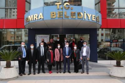 İYİ Parti'den Belediye Başkanımız Mustafa Bıyık'a Ziyaret