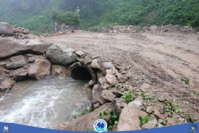 sel hasarları ve yol temizleme çalışmaları…