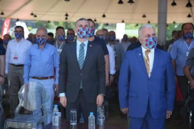 Başkanımız Saadet Partisi Trabzon İl Başkanlığının 8. Olağan Kongresi'ne Katıldı
